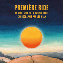 La Première Ride de la Marche Bleue par Léo Walk